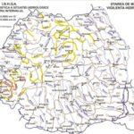 Cod galben de inundații pe râuri din cinci județe din Transilvania